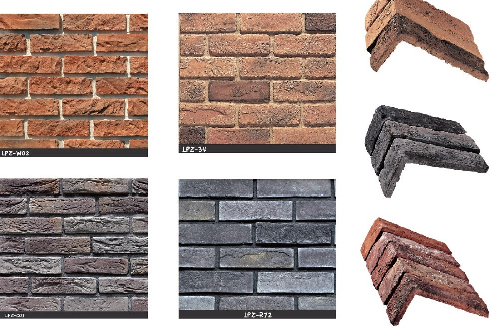 Antique Brick Zhonglei Group Building Exterior Wall